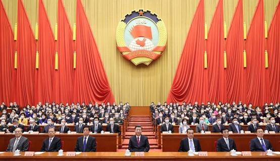 全国政协十三届四次会议闭幕  习近平等党和国家领导人出席